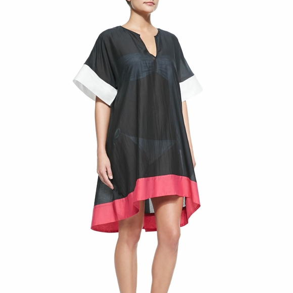 Kate Spade parrot cay tunic coverup Dress